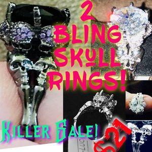 Incredible deal 2 Bling Skull Ring 2good 2 b True!